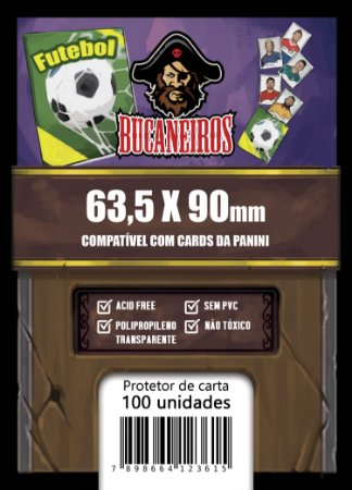 Sleeve Customizado para Cards Panini (63,5 x 90)