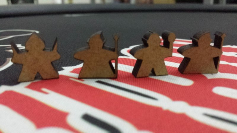 Meeples compatíveis com Lords of Waterdeep