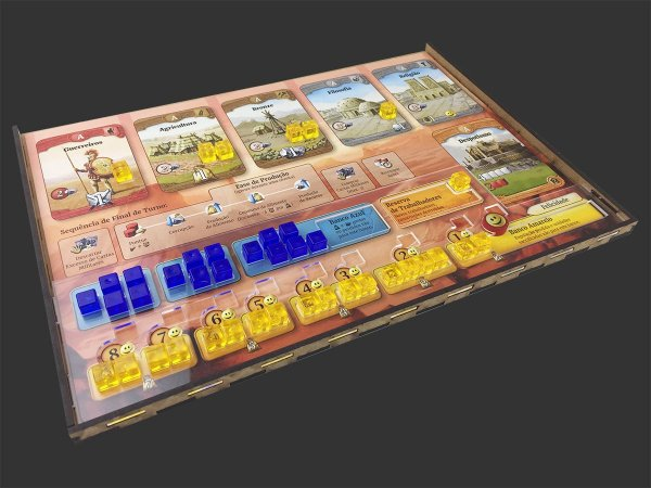 Kit Dashboard para Through the Ages (4 unidades) - SEM CASE