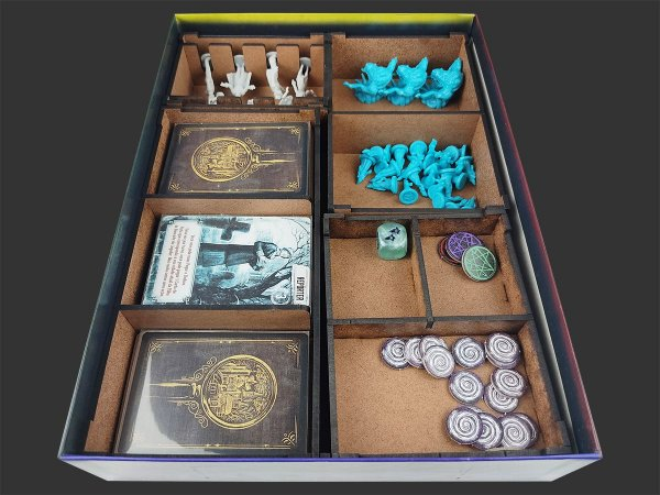 Organizador (insert) para Pandemic: O Reino de Cthulhu