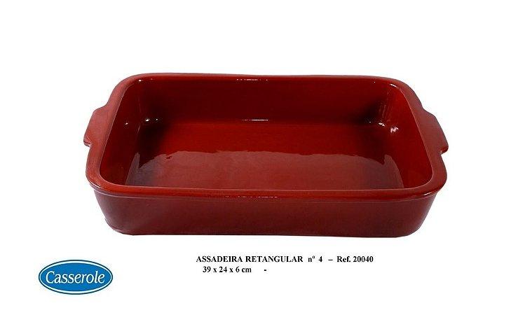 ASSADEIRA RETANGULAR MARROM N.4 REF 20040 - CASSEROLE