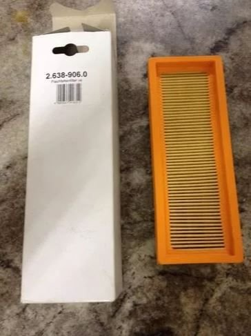 Filtro Permanente para Aspirador 2501 Karcher