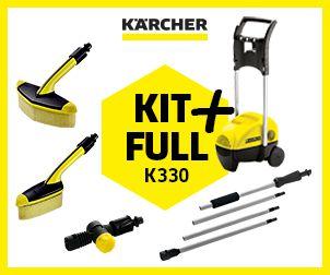 Lavadora de alta pressão Karcher K 3.30 KIT FULL + 1740lbs