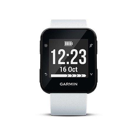 Monitor cardíaco de pulso com GPS Garmin Forerunner 35 Branco