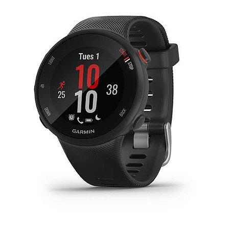 Monitor cardíaco de pulso com GPS Garmin Forerunner 45S Preto