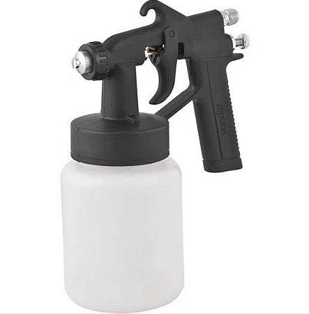 Pistola Para Pintura com Caneca Plástica Modelo PDV 90 Vonder