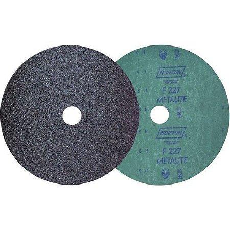 """Disco Lixa de Fibra 4.1/2"""" Grão 60 F227 Norton"""