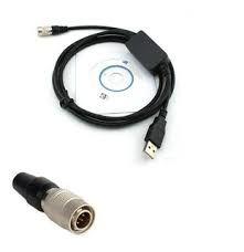 Cabo de Dados com conexão por porta USB para Estação Total Nikon