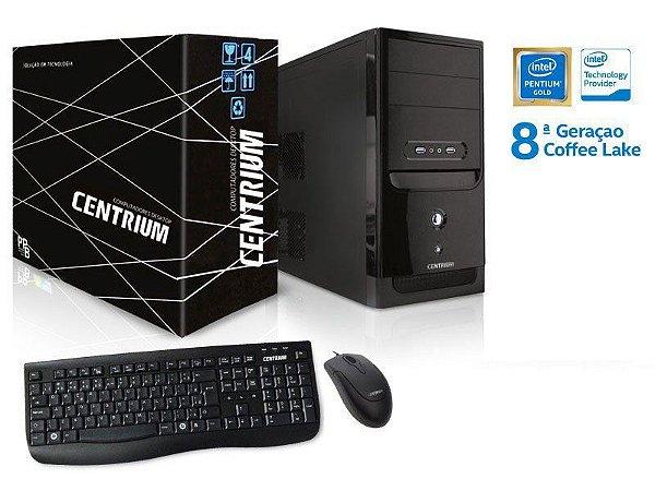 Computador Desktop Windows Computador Thintop 5400 Intel Pentium G5400 3.7ghz 4gb Ddr4 120gb Ssd Windows10