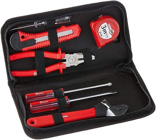 Jogo de ferramentas Nove54 com 8 peças aço carbono kf008