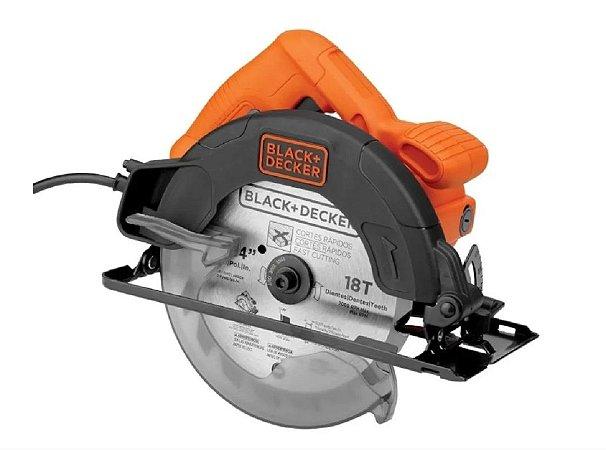 Serra Circular 7 1/4 Black E Decker Cs1350p-BR 1350w 127V