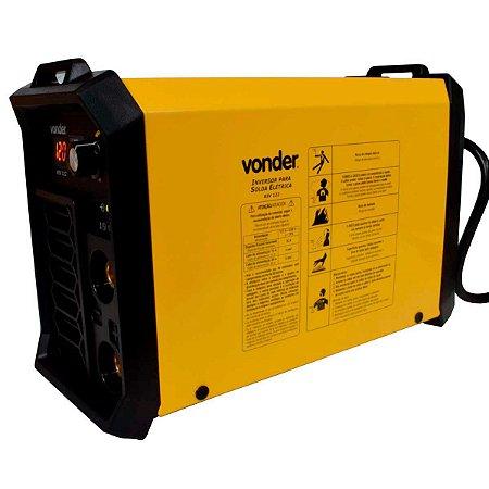 Máquina Inversora de Solda Eletrodo/TIG 120A Bivolt - VONDER-6878122000