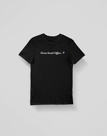 Camiseta Home Office - Preta