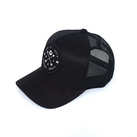 Boné Trucker Brasão All Black A Ideia