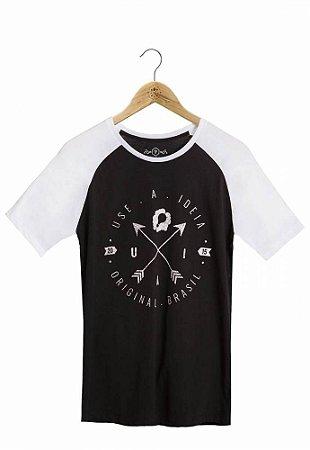 Camiseta Brasão Raglan