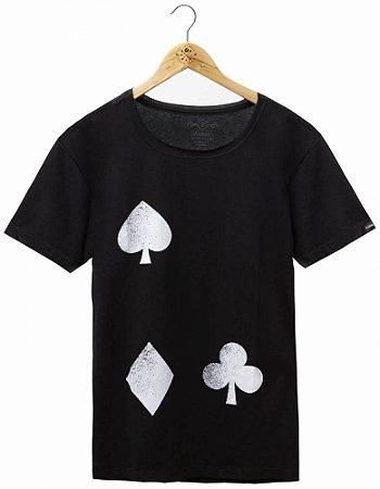 Camiseta Coração De Jogador Black