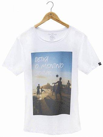 Camiseta Deixa o Menino Jogar