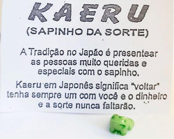 KAERU SAPINHO DA FELICIDADE/RIQUEZA/SORTE