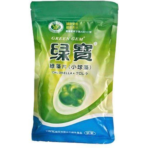 GREEN GEM® CHLORELLA 250g - 1000 comprimidos