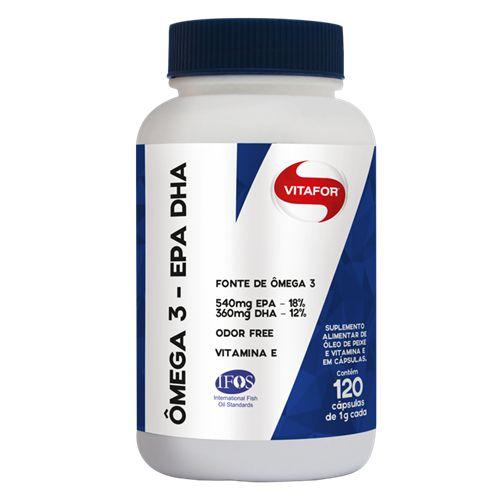 Omega 3 EPA - DHA 1g 120 caps Vitafor