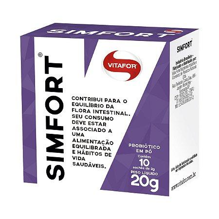 Probiótico Simfort 10 sachês - Vitafor