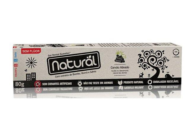 Creme Dental Orgânico - Carvão Ativado Natural