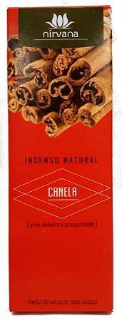 Incenso Natural Nirvana Canela