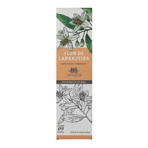 Incenso Natural Nirvana Flor de Laranjeira