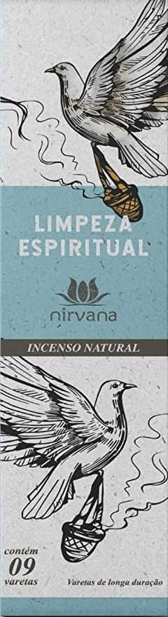 Incenso Natural Nirvana Limpeza Espiritual