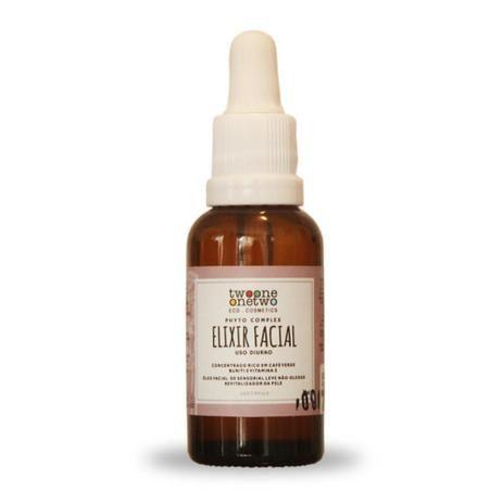 Elixir Vegano Facial Diurno Natural Buriti e Café Verde Twoone Onetwo 30ML