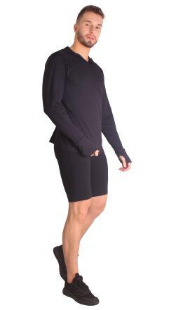 Bermuda masculina de leve compressão com Tecnologia Emana®