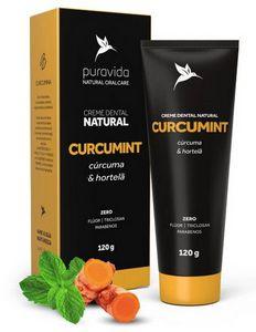 Creme Dental Natural Curcumint 120g - Pura Vida