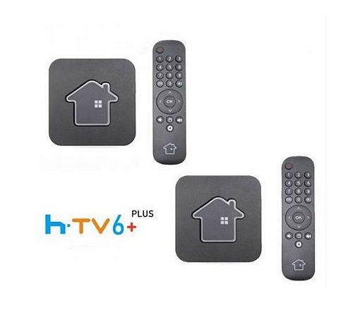 Kit de 2 Receptores Htv 6 Plus Ultra HD 16GB