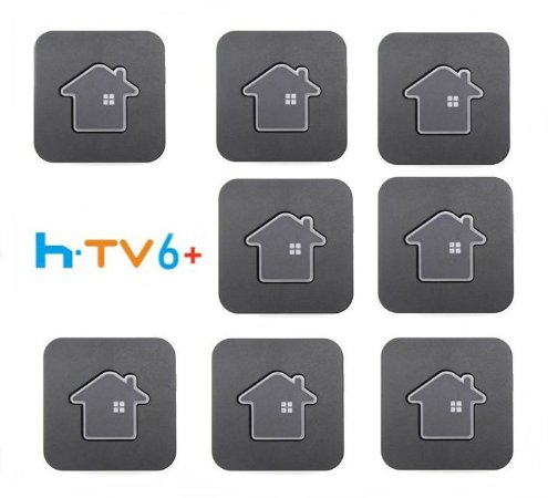 Kit de 8 Receptores Htv 6 Plus Ultra HD 16GB