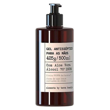 Álcool em Gel 70 INPM Perfumado com Extrato de Aloe Vera 500ML com Válvula Dosadora