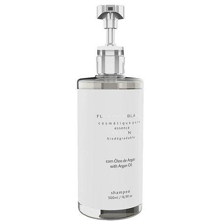 Shampoo Blanc 500ml com óleo de argan Dispenser com válvula profissional