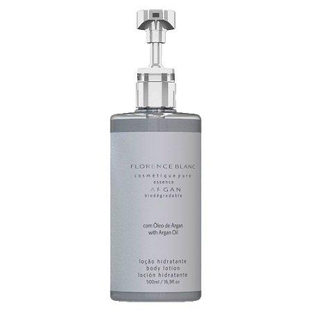 Desodorante Hidratante Corporal Blanc 500ml com óleo de Argan Dispenser com válvula profissional