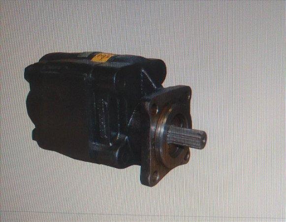 Bomba Hidraulica Marrucci P30 64 litros 6138 Flange Euro Ferro saida e entrada tras (rolamento)