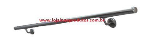 "Corrimão 06 - Inox 304 - 1 1/2"" x 2,00 MT - Polido"