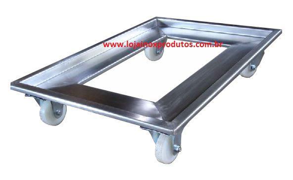 Carrinho 05 - 640 x 420 MM - Inox 304