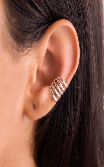 Piercing  cinco fios prata 925