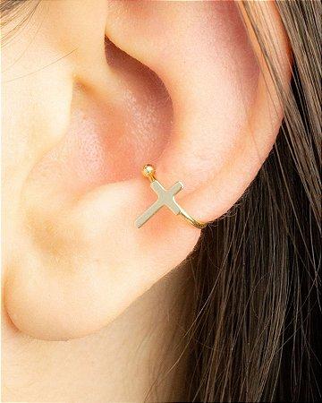 Piercing de cruz