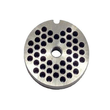 Disco 5mm Para Maquina De Moer Carne Moedor Picador Boca 5