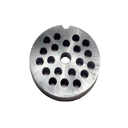 Disco 6mm Para Maquina De Moer Carne Moedor Picador Boca 5