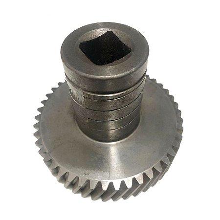 Engrenagem Moedor 22 45 Dentes De Ferro Beccaro