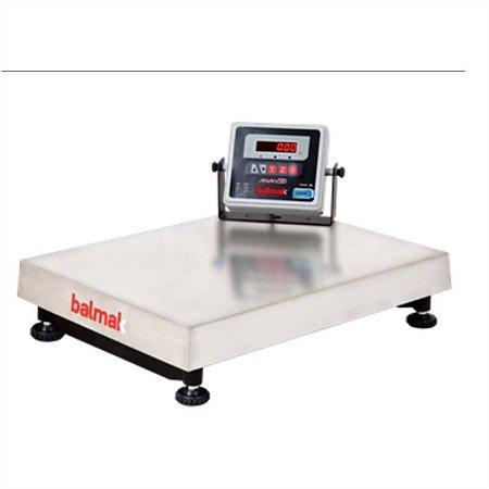 Balanca Industrial Eletronica 300Kg Inox Com Visor Movel e Bateria BK300I1B Balmak