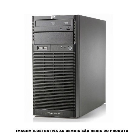 Servidor HP Proliant ML110 G6 Xeon x3430 8gb 2Tb