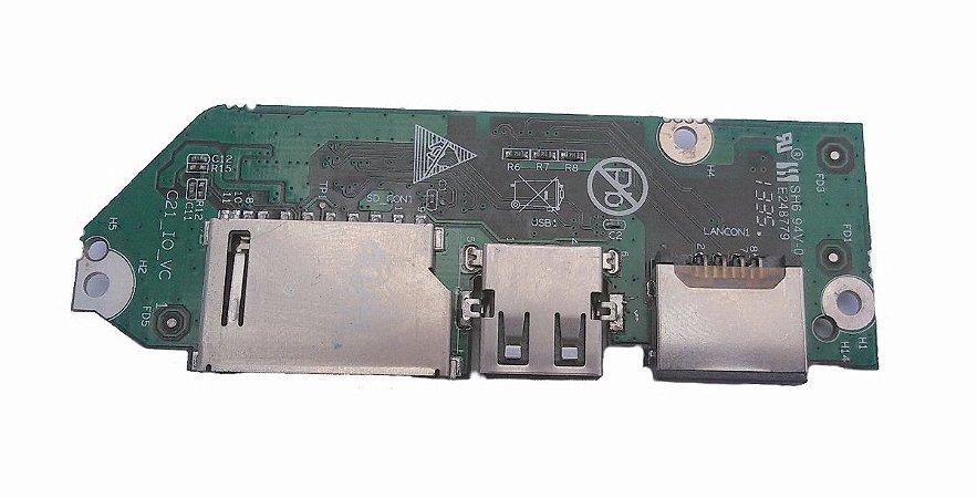 Placa Notebook Megaware Usb Rede Sh6 94v-0 E248779 C21