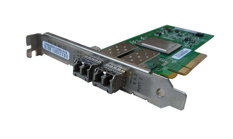 Placa Fibra Otica Qlogic 8GB QLE2562 Perfil Alto Pci-e