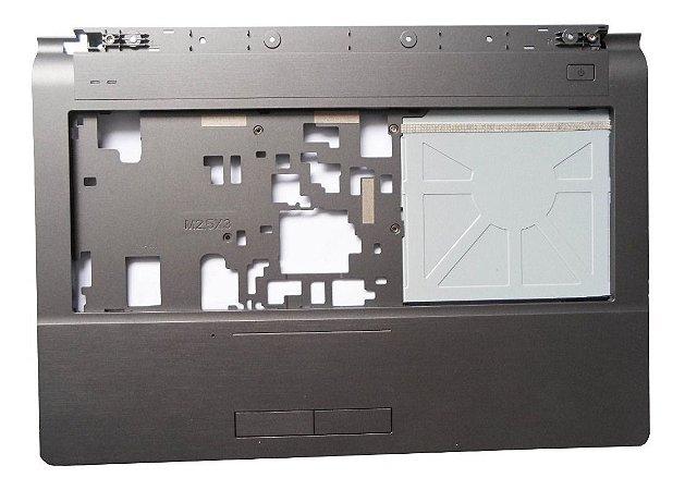 Carcaça Inferior Completa Megaware Meganote 4129 C/touchpad